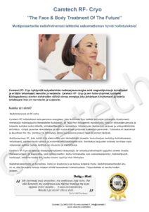 Radiofrekvenssihoito kasvoille ja vartalolle