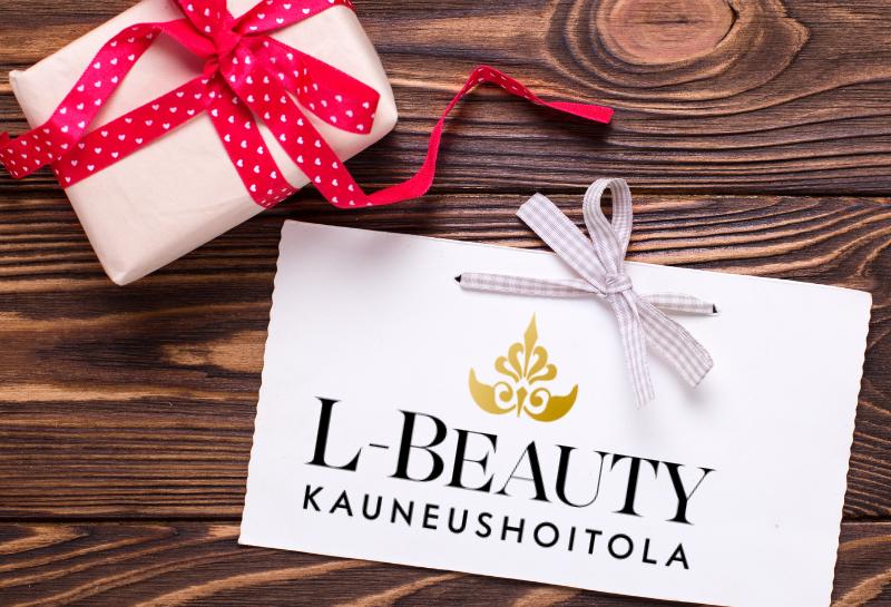L-Beauty kauneushoitolan lahjakortti