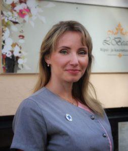 SKY kosmetologi Liina Kärmas