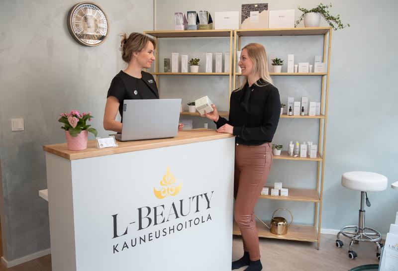 Kauneushoitola L-Beauty Helsingissä