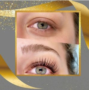 Lash lift Helsinki L-Beauty